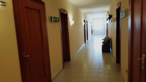 corridoio albergo